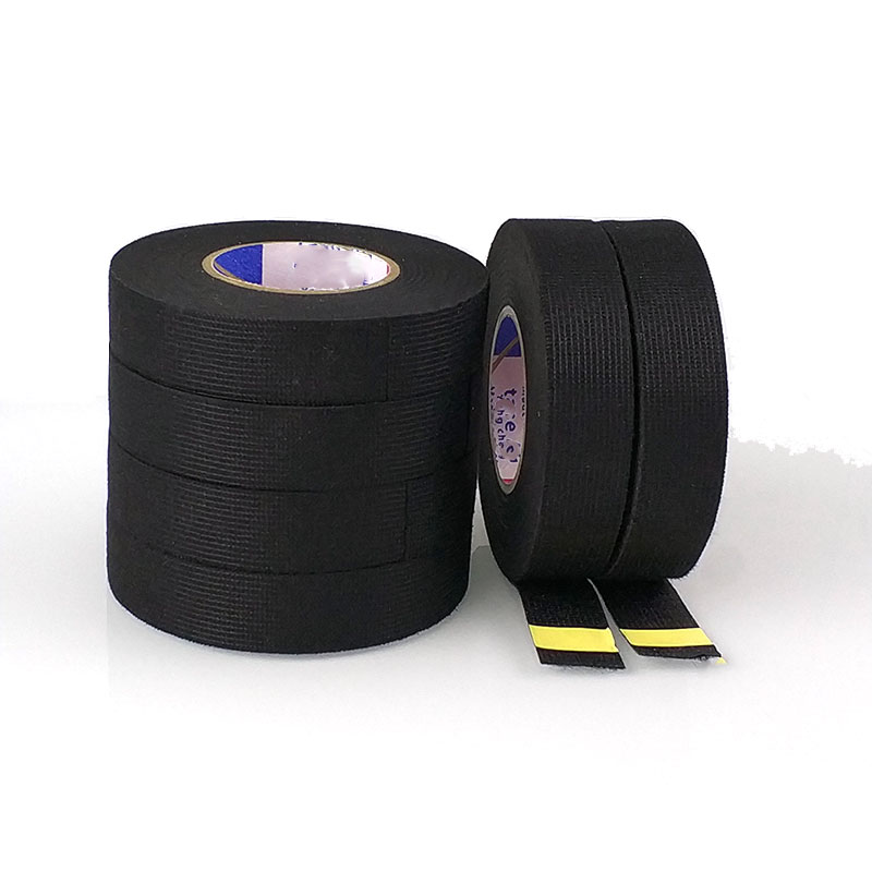 15-meters-wires-fabric-tape-high-temperature-protection-loom-harness-tape-cars-aceessories-for-dvr-sensor-radio-camera