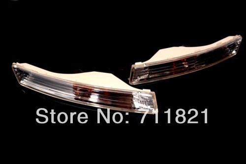 Front Bumper Euro Style Clear Turn Signal Light For VW Passat B6 euro spec front bumper smoke turn signal light for vw passat b6