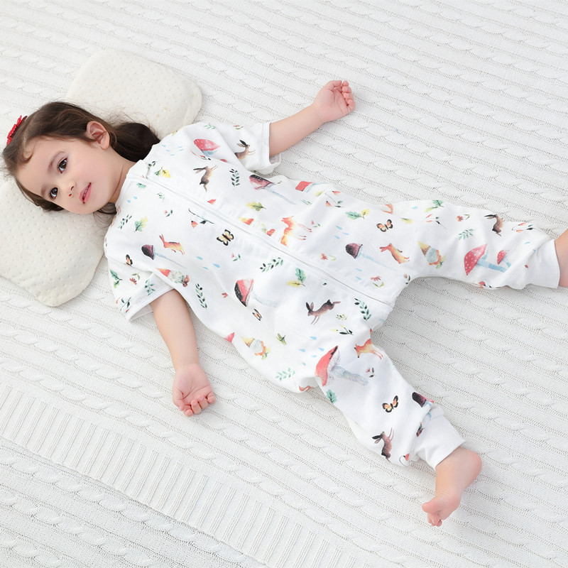 mushroom baby Sleeping Bag Muslin Bamboo Cotton toddle Sleep Sack Cute Cartoon Sleeves Sleep Bag Anti Kick Quiltmushroom baby Sleeping Bag Muslin Bamboo Cotton toddle Sleep Sack Cute Cartoon Sleeves Sleep Bag Anti Kick Quilt