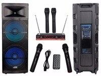 STARAUDIO 15 5000W Pro PA DJ Stage Powered Active MP3 SD BT RGB Light Speaker 2