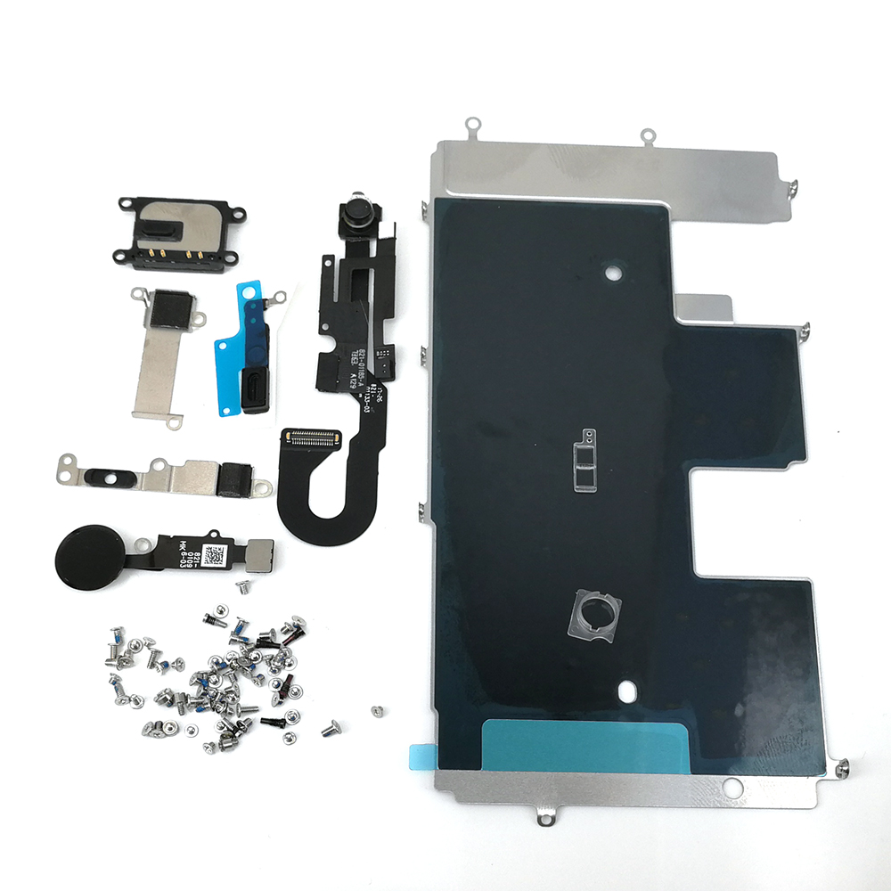 E-REPAIR Screen Metal Bracket Front Camera Flex Cable Small Parts Full Set Replacement For iPhone 8 (4.7 inch)