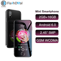 Smallest 3G WCDMA Mini Smartphone Anica i8 WiFi GPS Speaker Celulares Android 6.0 Google Store Quad Core 2.45 Mobile Telephone
