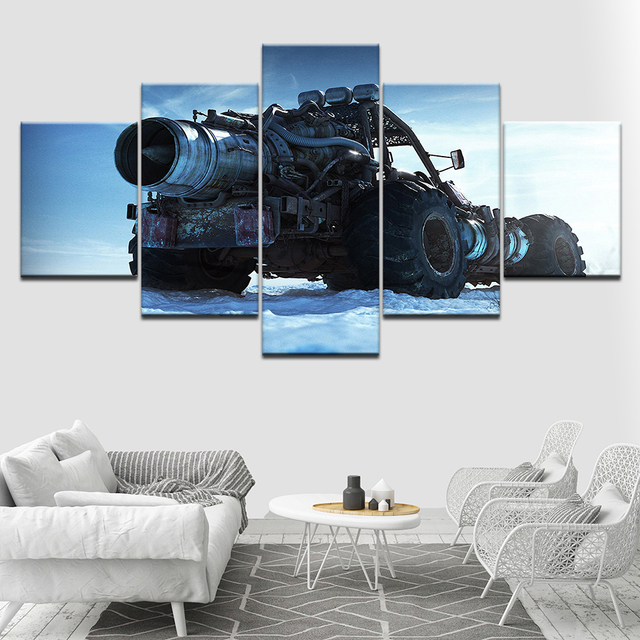 The cool tank 5 Piece HD Wallpapers Art Canvas Print ...