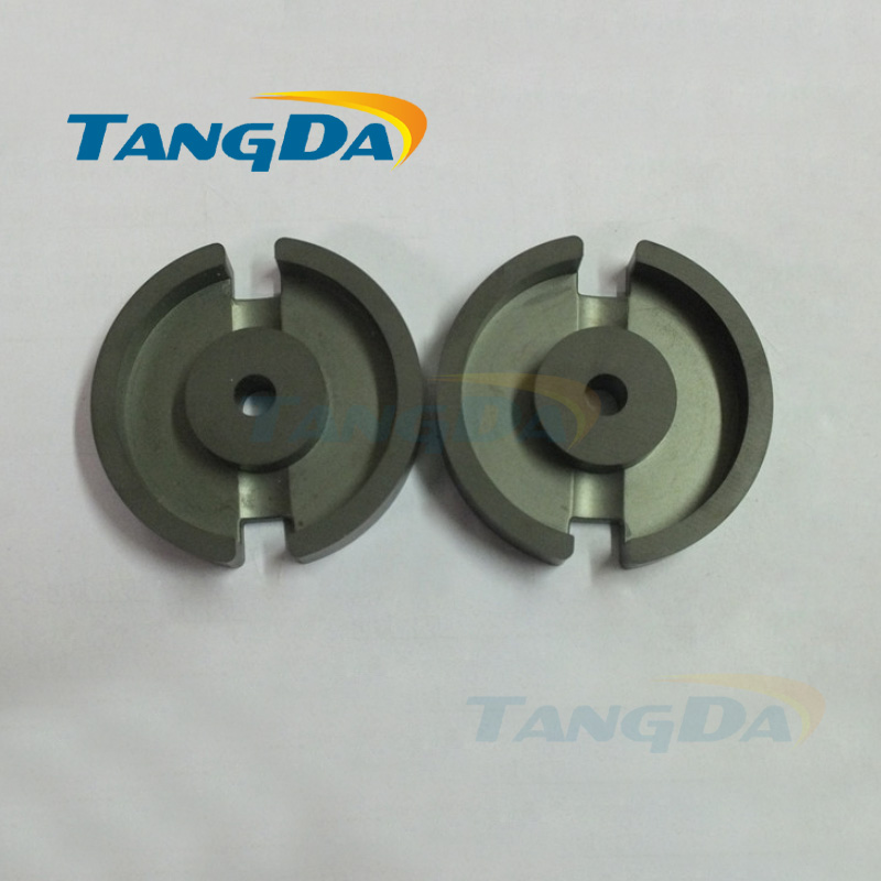 цена на Tangda GU Type GU69 P69 soft ferrite core magnetic core for transformer PC40 material high frequency Adjustable inductor