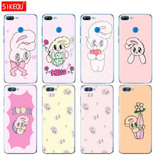 Silicone Cover phone Case for Huawei Honor 10 V10 3c 4C 5c 5x 4A 6A 6C pro 6X 7X 6 7 8 9 LITE Pink chuu esther kim rabbit(China)