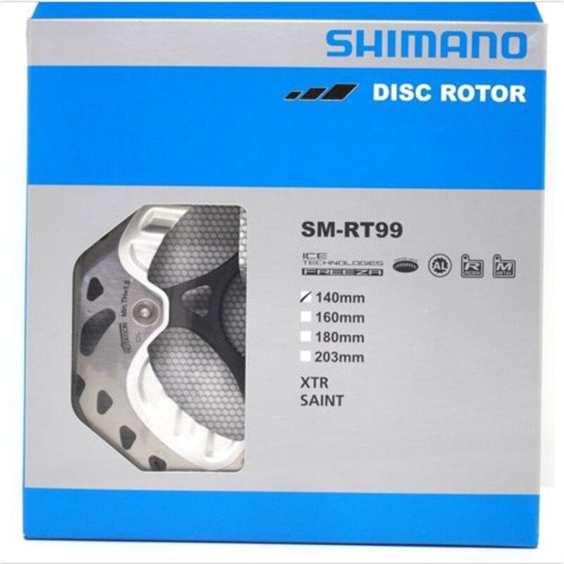 Original Box-packed Shimano Saint SM-RT99-A SS Ice-Tec Center Lock Disc Brake Rotor 140mm Bicycle