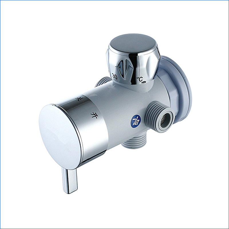 X9163 - Wall Mounted ABS Body Thermostatic Shower Mixer