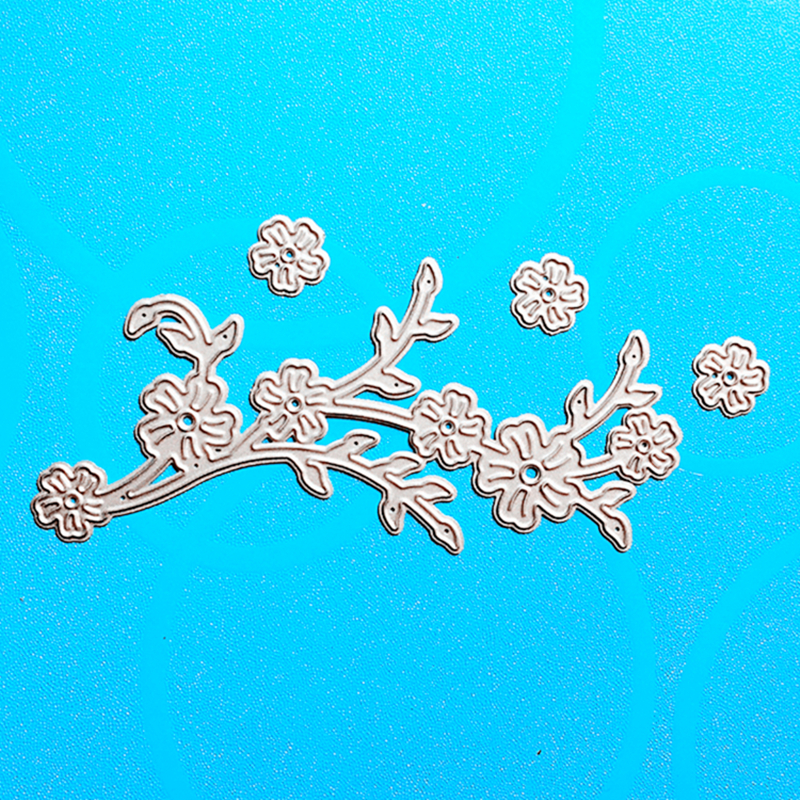 YLCD633 Flower Metal Cutting Dies For Scrapbooking Stencils DIY Album Cards Decoration Embossing Folder Die Cutter Template Tool