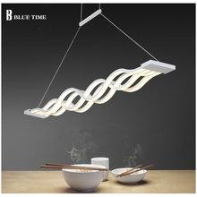 New Creative Home Modern LED Pendant Lights Kitchen Acrylic+Metal Suspension Ceiling Hanging Lamp For Dinning Room AC 220V 110V все цены
