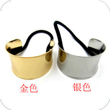t22 European and American fashion personality wild range of metal punk hair rope hair ring hair accessories