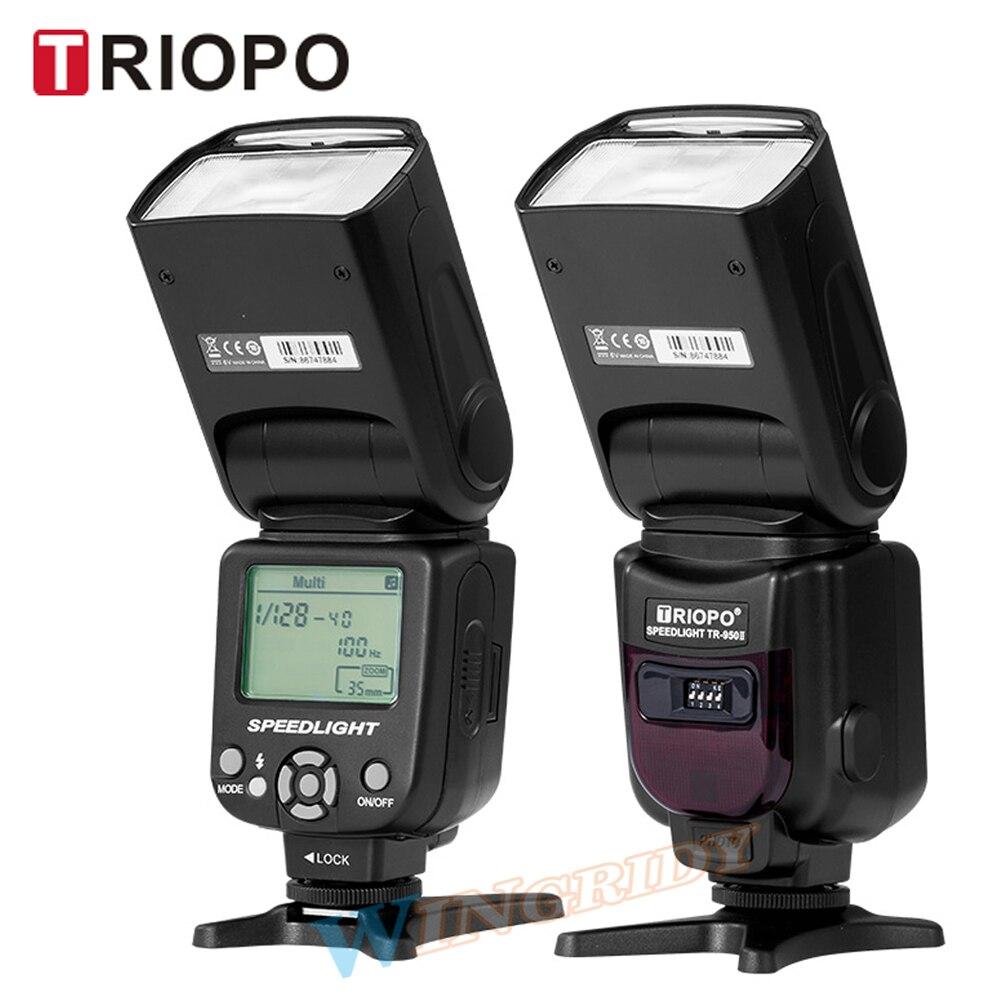 Triopo TR-950II Flash Light Speedlite 2.4g Sans Fil Transmission Universel Pour Nikon Canon 650D 550D 450D 1100D 60D 7D 5D caméra
