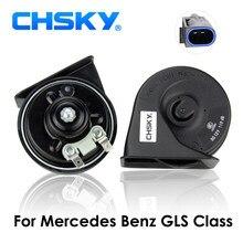 CHSKY tipo Chifre Caracol Buzina Do Carro Para Mercedes Benz Classe 2012 para N 12 v Loudness 110-129db GLS Auto Chifre tempo da longa Vida De Alta Baixa