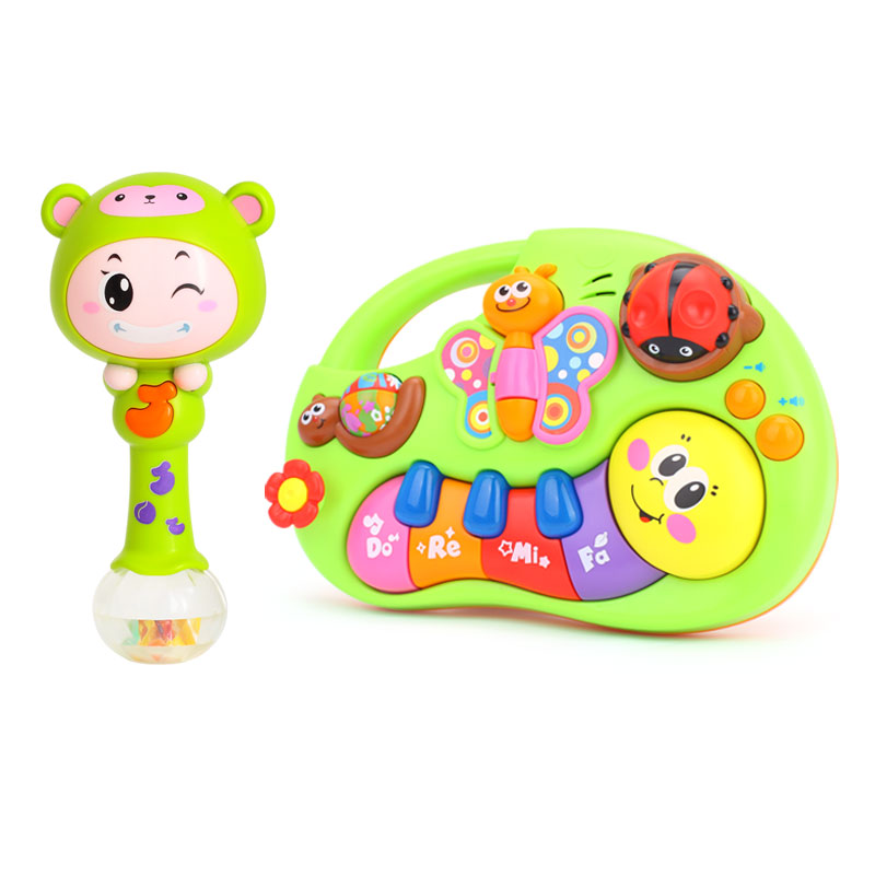 Develop Baby Intelligence Toy Gifts & Kids Musical Educational Playing Animal Farm Piano Music Toys