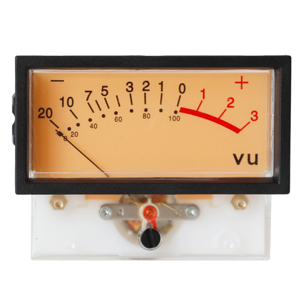 Panel With Frame Power Discharge Portable Backlight Tools Stable Mixer VU Meter Indicator DB Level High Accurate Audio Small