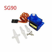 10pcs/lot lofty ambition SG90 9g Mini Micro Servo for RC for RC 250 450 Helicopter Airplane Car Drop Free Shippping