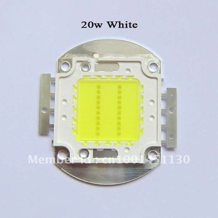 High Bright 20W 32~34V 600Ma 45mil Warm White / White 180~200LM SMD LED light Lamp parts