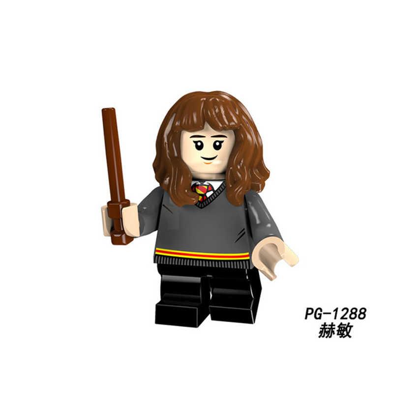 Legoingly Харри Поттер и Дары смерти Гермиона Рон Дамблдор Rubeus Хагрид Малфой здания Конструкторы игрушечные лошадки цифры gh30