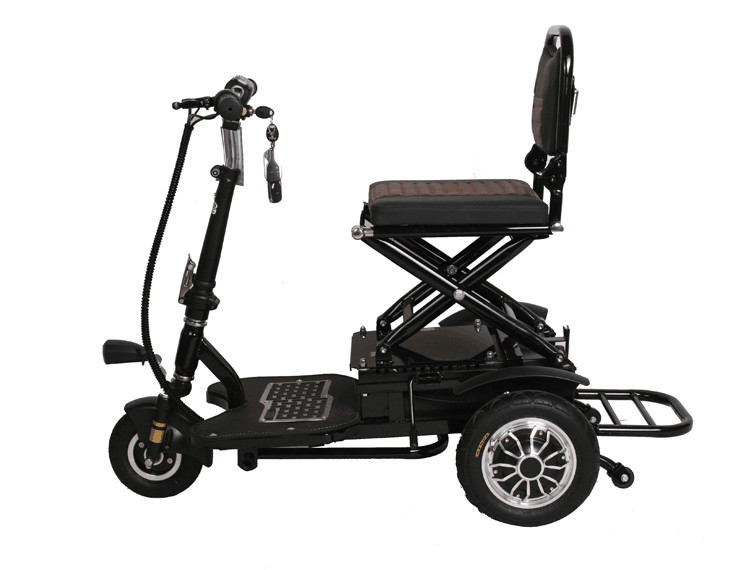 Tj 48v12ah 002 Folding Electric Tricycle Scooter Tricycle
