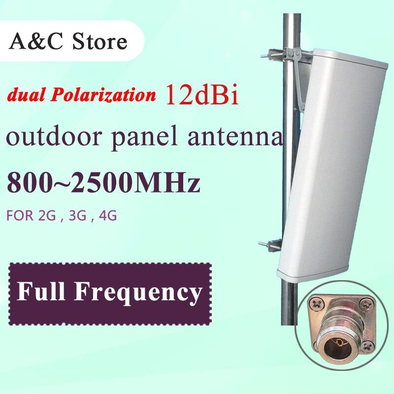imágenes para 2G 3G 4G-LTE celular antena 12dB antena de polarización dual wcdma dcs GSM antena panel de antena MIMO para AP sector N-hembra