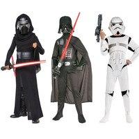 Clone Troopers Force Awakens Kylo Ren Costume Kids Costumes Stormtrooper Darth Vader Fancy Dress Children Halloween