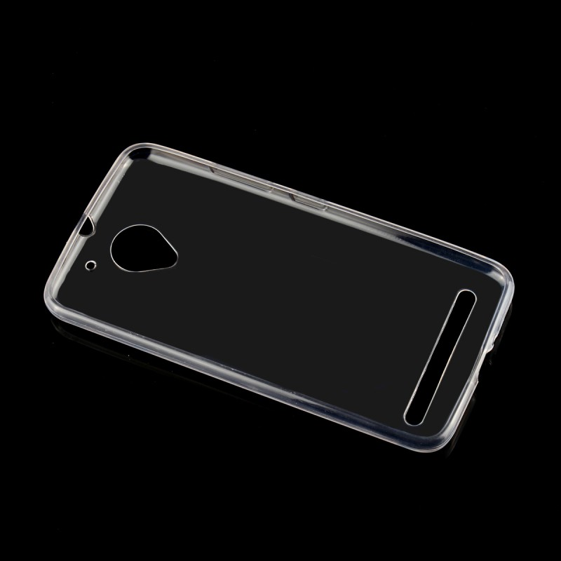 Clear Soft Silicone Cases For Lenovo Vibe C2 K10A40 Case Transparent Cover Protector Shell Mobile Phone Accessories Etui Coque