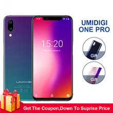 Umidigi One Pro 4G RAM 64GB ROM 5.9″Mobile phone Android 8.1 12MP+5MP wireless charging 4G Cell phone octa core smartphone NFC