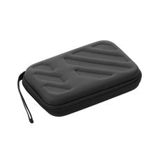 2 5 dysk twardy Protect Bag zewnętrzny dysk twardy dysk odporny na wstrząsy EVA przypadku siateczkowa kieszeń futerał do użytku biurowego tanie tanio KKMOON C8473B