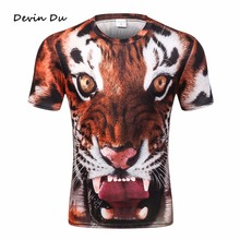2017 Very Nice new Model T-shirt men/women 3d t shirt funny print tiger summer tops tees plus size XXXXL