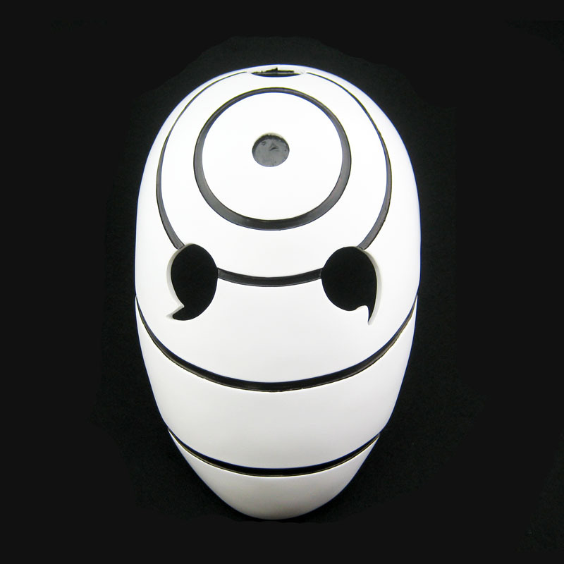 High Quality Collector s edition Halloween Anime Cos font b Naruto b font Obito Mask Tobi