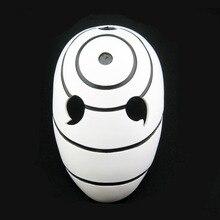 Высокое качество Коллекционное издание Хэллоуин Аниме COS Наруто Обито маска Тоби маска Учиха Косплэй костюм фильм Опора Реплика