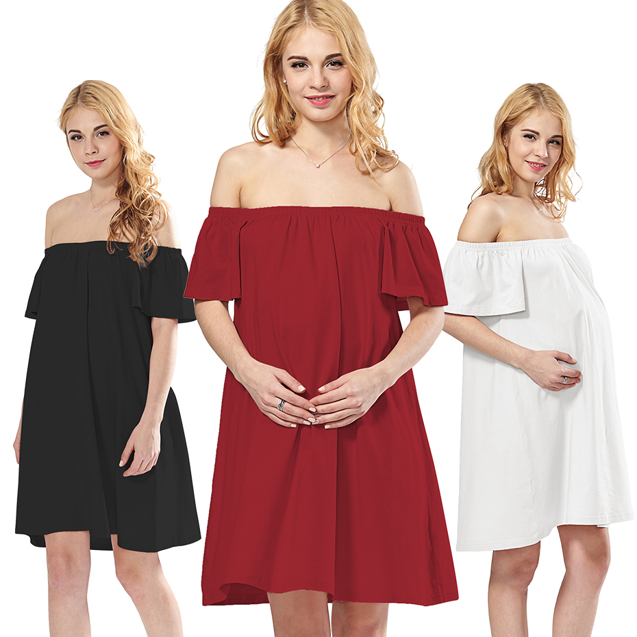 Green Home Sexy Dresses For Pregnant Women Off The -6343