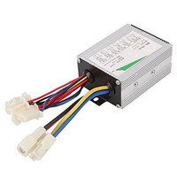 Wholesale Price 24V 500W Aluminium Silver Motor Brushless Speed Controller For Electric Bicycle Scooter Bike Durable