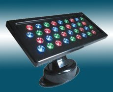 LED flood light;36*1W; with DMX512 controlled;IP65; various color available