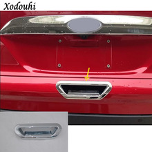 For Ford Kuga 2017 2018 2019 car styling frame stick ABS Chrome trim back tail rear
