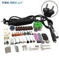 230 v 180 w Rotary Tool Set Elettrico Mini Trapano Incisore Kit con Allegati e Accessori Utensili elettrici per Progetti di Artigianato