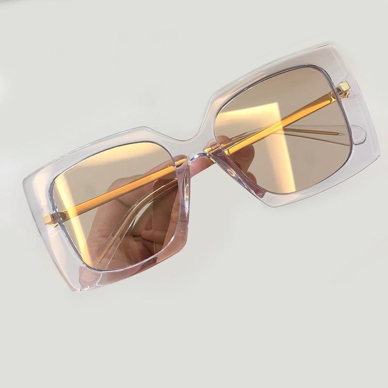 Frauen no Sonnenbrille Marke Mode Mit De Hohe Objektiv Feminino No no 1 4 Oculos Quadrat 2 2019 Sol Verpackung Designer Qualität Gradienten no Luxus 3 tw55qCH