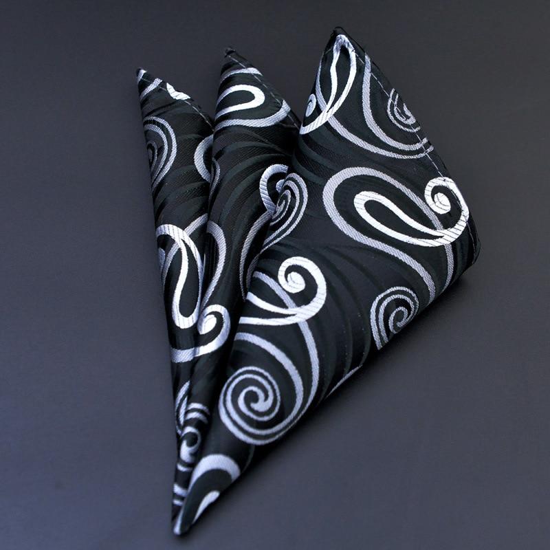 Paisley Silk näsdukar Vävda djurmönster Hanky Herrföretag - Kläder tillbehör - Foto 1