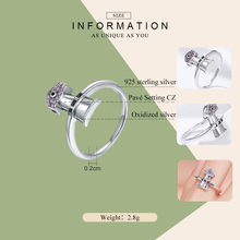 Lighthouse Shore Beacon Sterling Silver Rings For Women