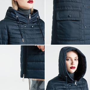 Image 5 - MIEGOFCE 2020 New Collection Womens Spring Jacket Stylish Coat with Hood and Patch Pockets Double Protection from Wind Trench