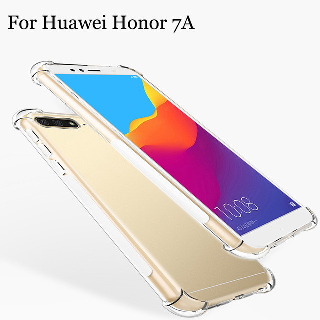 promo code 3aabe eefad US $1.79 10% OFF|Phone Cases For Huawei Honor 7A Case Transparent Soft Back  Cover For Huawei Honor7A Pro Shell Cover Heavy Duty Protection-in Fitted ...
