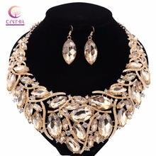 6 цветов Модные женские ювелирные наборы Трендовое ожерелье