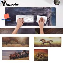 Yinuoda Custom Skin Horse Fire Customized laptop Gaming mouse pad Pad To Mouse