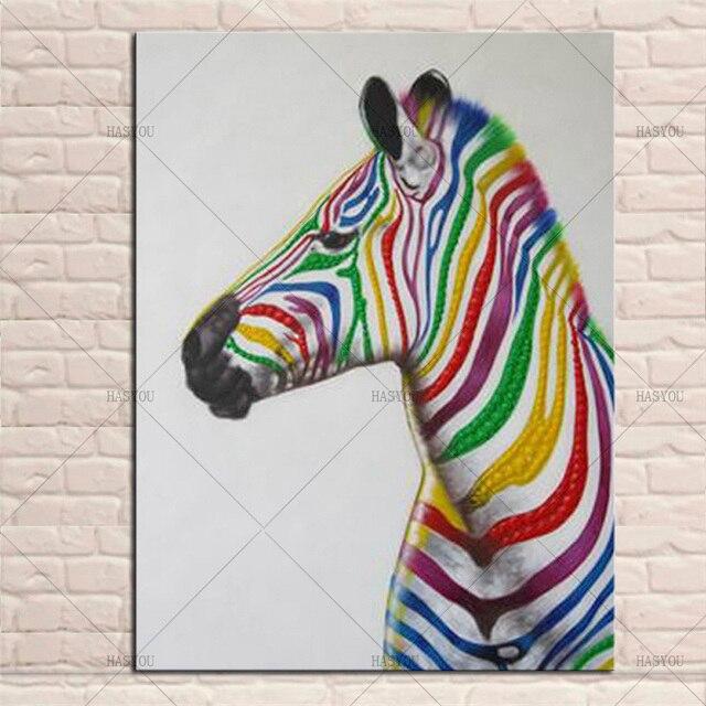 Selling handgemaakte afrikaanse kleurrijke zebra olieverf muur foto selling handgemaakte afrikaanse kleurrijke zebra olieverf muur foto op canvas moderne animal olieverf woondecoratie kunstwerk thecheapjerseys Gallery