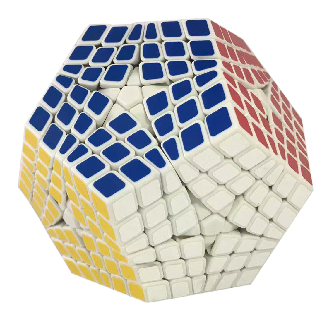 6x6x6 Megaminx Brain Teaser Magic Cube Speed Cube Twisty Puzzle Toy verrypuzzle clover dodecahedron magic cube speed twisty puzzle megaminx cubes game educational toys for kids children