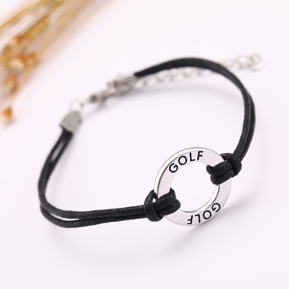 New Colorful Adjustable Manually Friendship Gift Leather Charm Bracelet