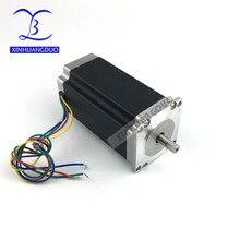Nema 23 шаговый двигатель 57BYGH112 425oz-in 112 мм 3A CE ROHS ISO 3d принтер робот 23HS2430 Бесплатная доставка CNC