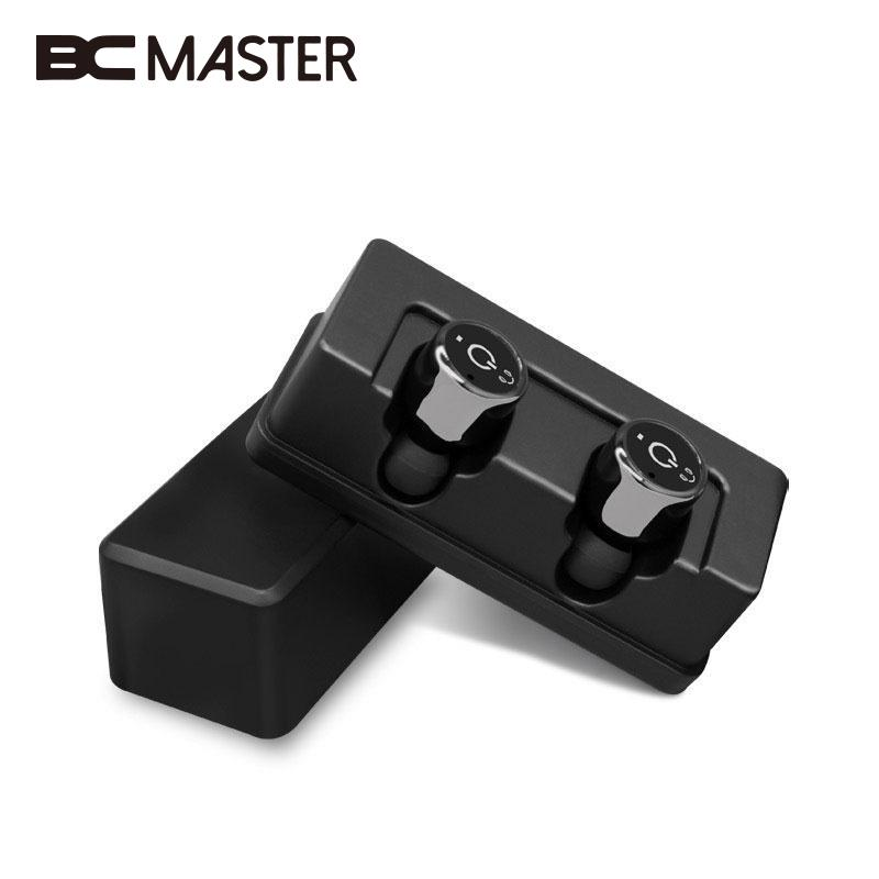 BCMaster Plus Mini Bluetooth 4.2 Headset Micro Earphone True Wireless Double Earbuds Cordless Earpiece In Ear Headphone mini wireless in ear micro earpiece bluetooth earphone cordless headphone blutooth earbuds hands free headset for phone iphone 7