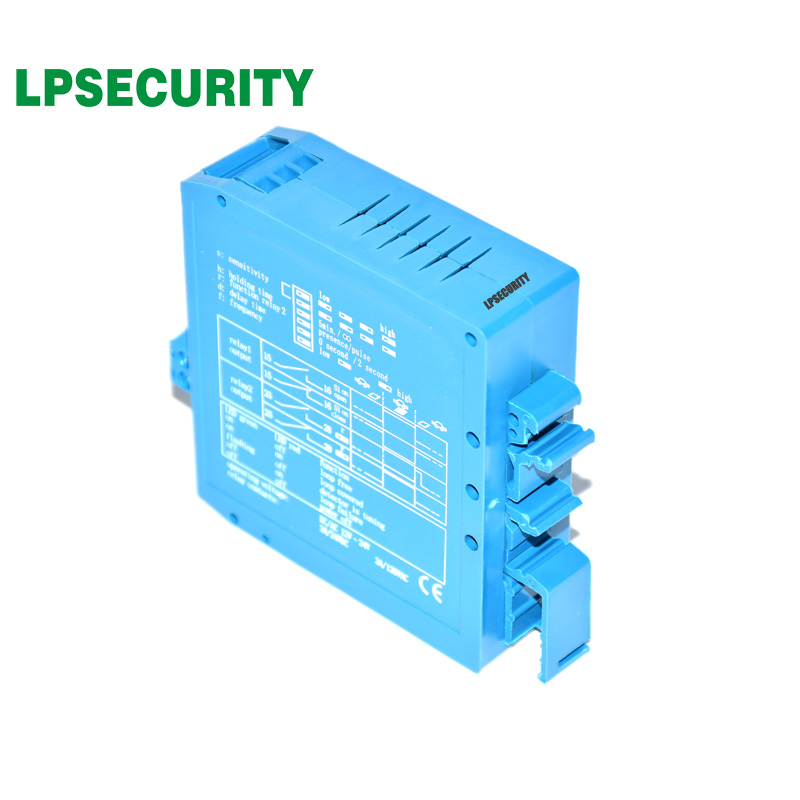 LPSECURITY 10pcs/Lot 24V Single Inductive Vehicle Loop Detector For Car Park Management System