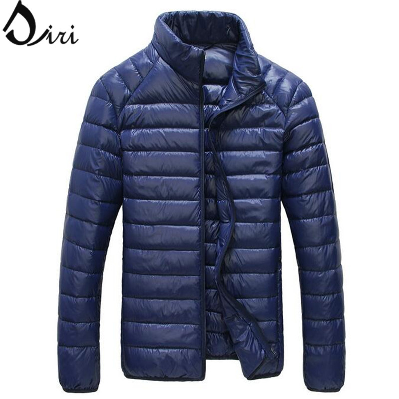 Brand Clothing Ultra Light Down Jacket Men Fashion Warm ...