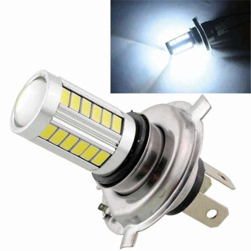 H4 33-LED SMD 5630 LED Hi/Lo White Auto Led Light for Car Fog Driving Light Headlight Lamp 12V Car Lights Bulbs dropshipping